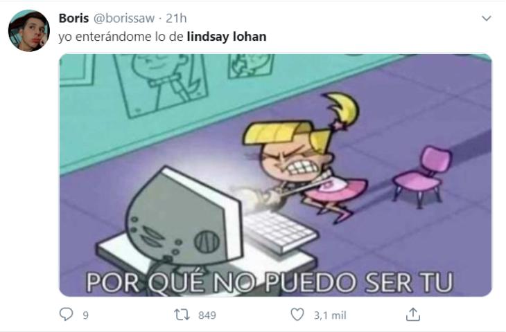 Memes Lindsay Lohan