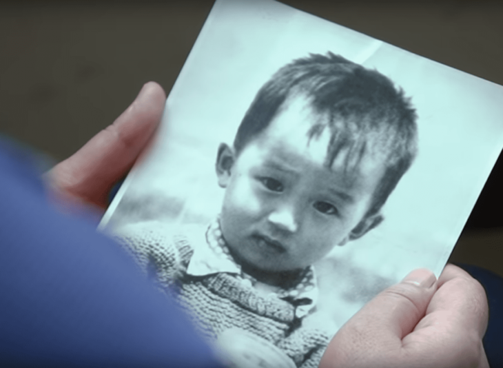 Fotograrfía de Mao de bebé