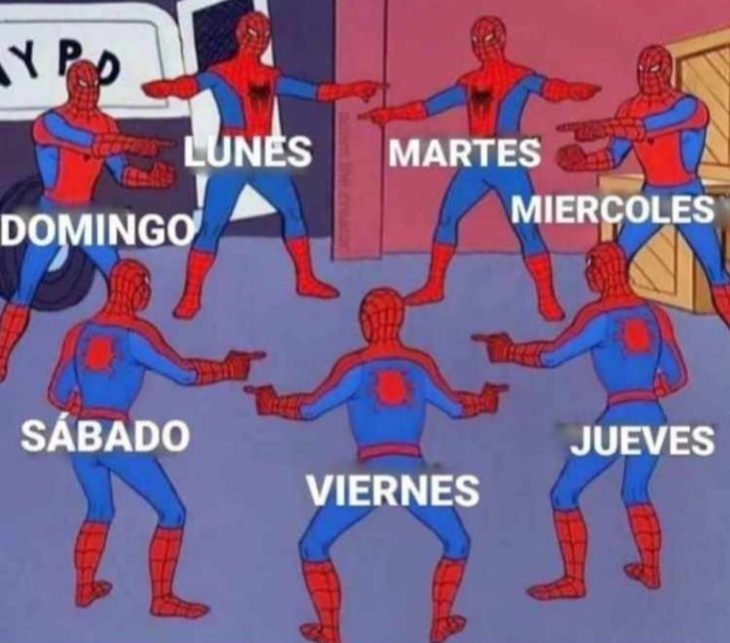 Memes de insomnio en la cuarentena; Spiderman