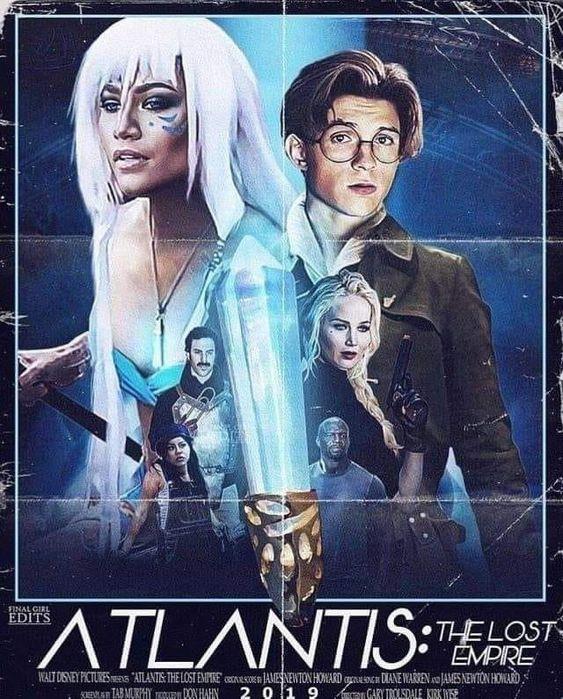 Póster de el live actionde Atlantis: el imperio perdido