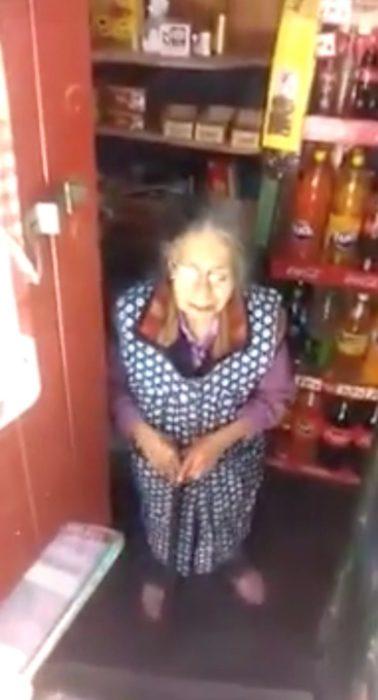 Palmita, mujer boliviana