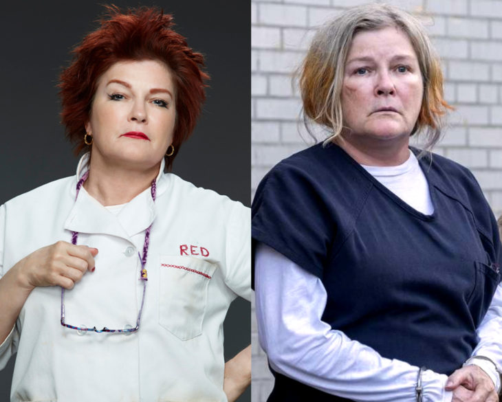Personajes de series en su primer y última temporada; Galina Roja Reznikov, Orange is the New Black