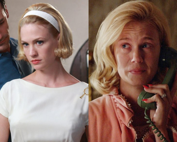 Personajes de series en su primer y última temporada; Betty Draper, Mad Men