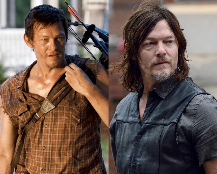 Personajes de series en su primer y última temporada; Daryl Dixon, The Walking Dead