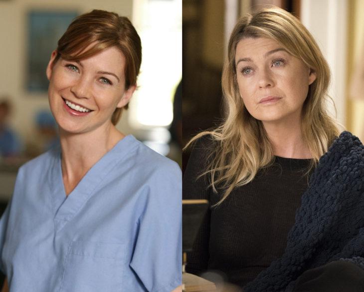 Personajes de series en su primer y última temporada; Meredith Gray, Grey's Anatomy