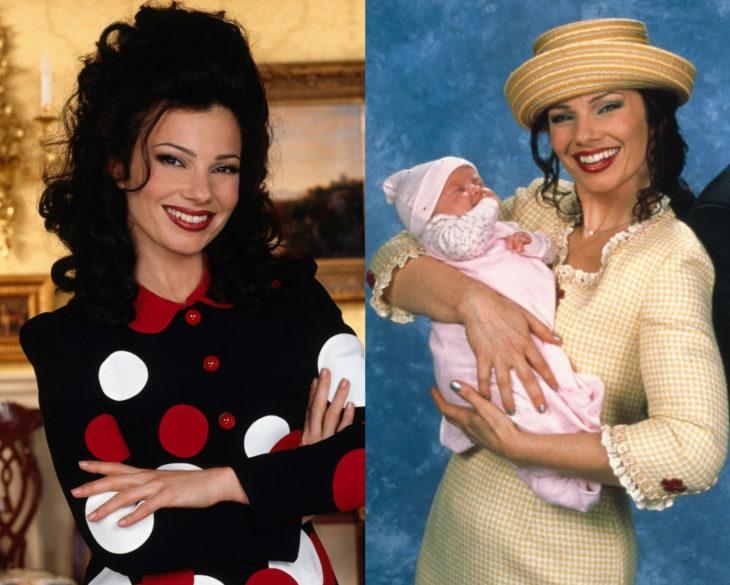 Personajes de series en su primer y última temporada; Fran Drescher, La Niñera, The Nanny