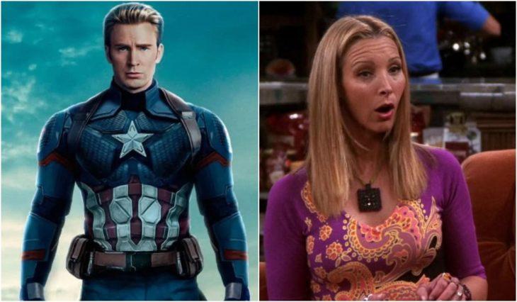 Capitán América y Phoebe Buffay