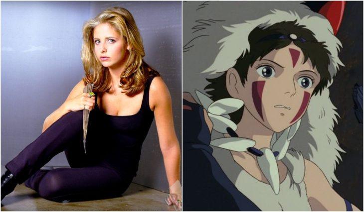 Buffy Summers y La princesa Mononoke