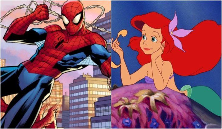 Spider-Man y Ariel