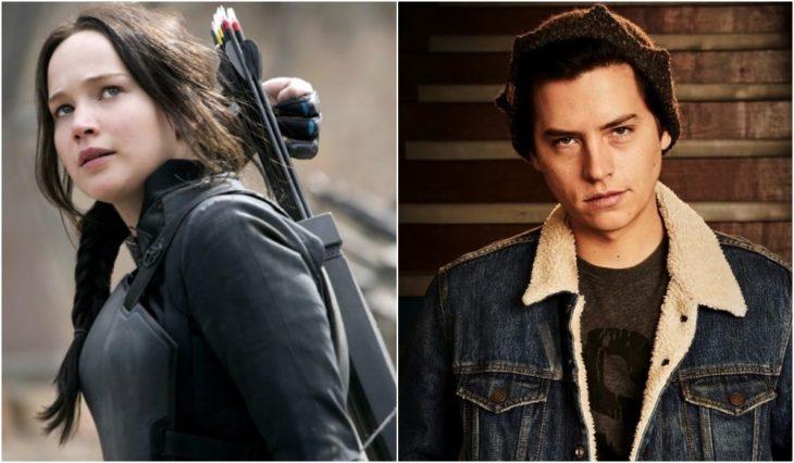 Katniss Everdeen y Jughead Jones