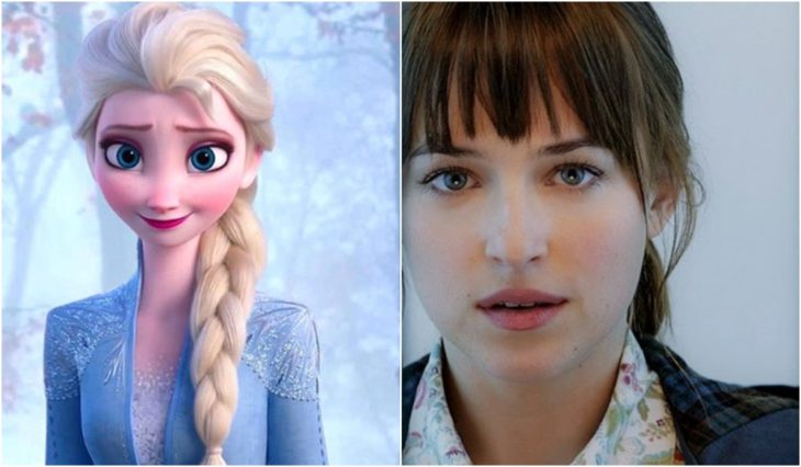 Elsa y Anastasia Steele