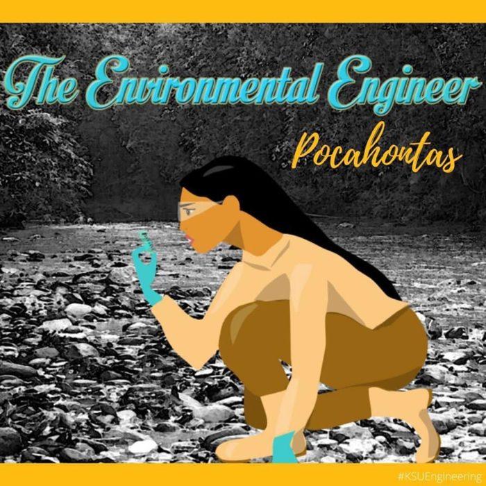 Pocahontas sería ingeniera ambiental