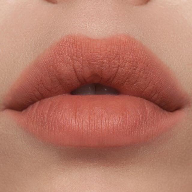 Labios grandes con labial mate