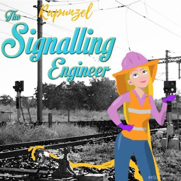 Rapunzel seria ingeniera en señalización