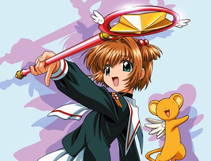 Sakura con la llave de estrella