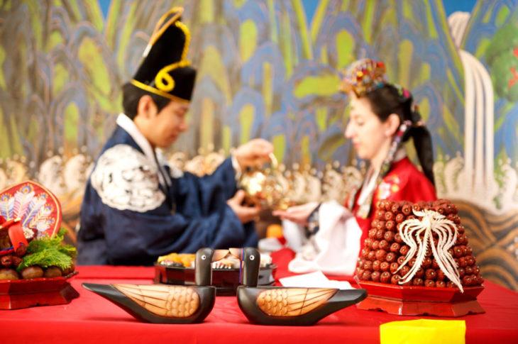 Simbolismos de la boda coreana