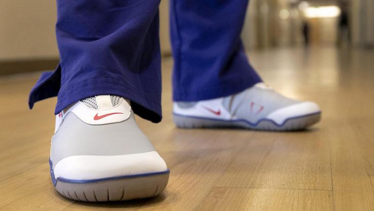 Tenis Nike creados especificamente para el personal de salud