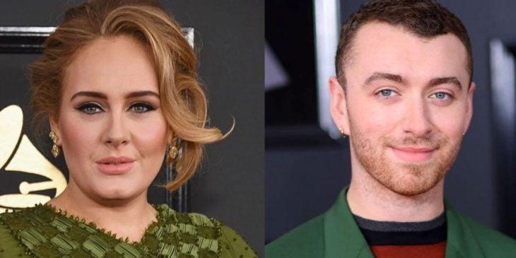 Teoría de que Adele y Sam Smith son la misma persona