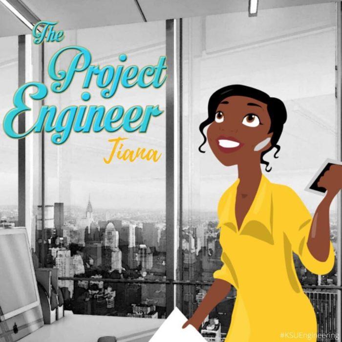 Tiana sería ingeniera de proyectos