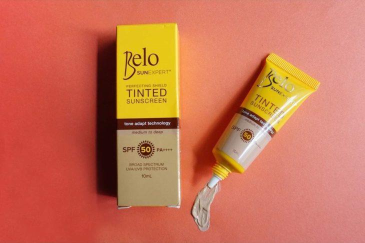 Tinted Sunscreen de Belo SunExpert