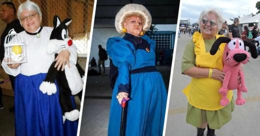 La abuelita que demuestra que el cosplay no tiene edad