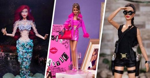 15 Obras de arte hechas con una Barbie que desearás tener