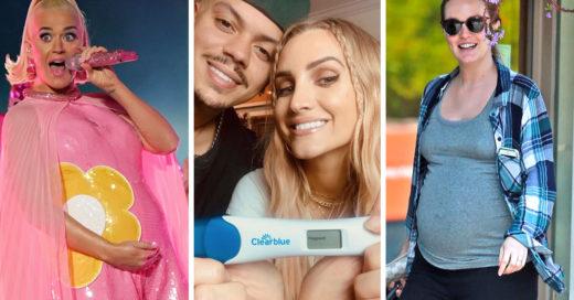 15 Famosas que confirmaron su embarazo durante este 2020