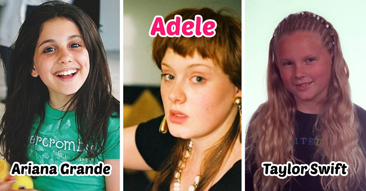 12 Fotos del antes y el después de tus famosos más queridos