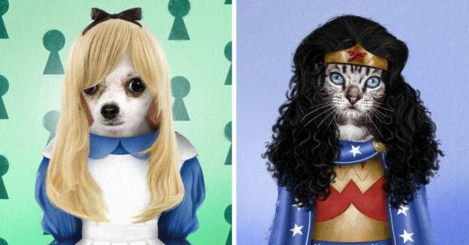 18 Mascotas vestidas como personajes de la cultura pop que alegrarán tu día