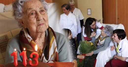Abuelita de 113 años vence al Covid-19; ¡todos saldremos adelante!