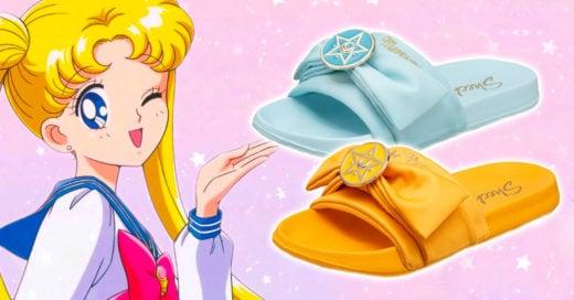 Skechers crea línea de sandalias inspirada en 'Sailor Moon'