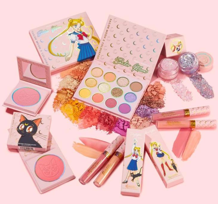 Maquillaje sailor moon colourpop