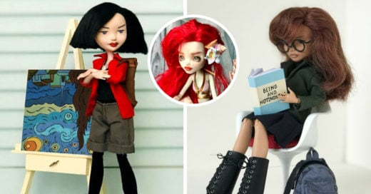 Artista rusa transforma muñecas Monster High en Daria y Jane