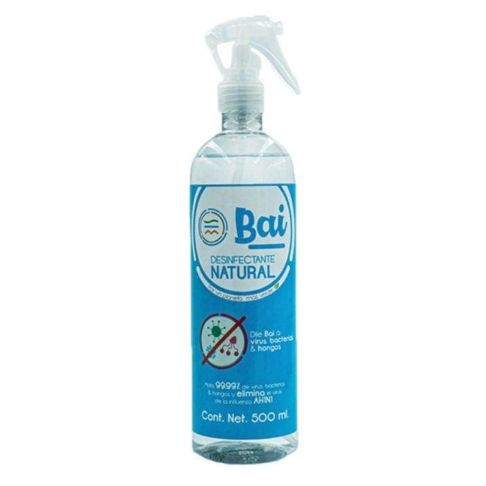 Spray antibacterial de la marca Bai