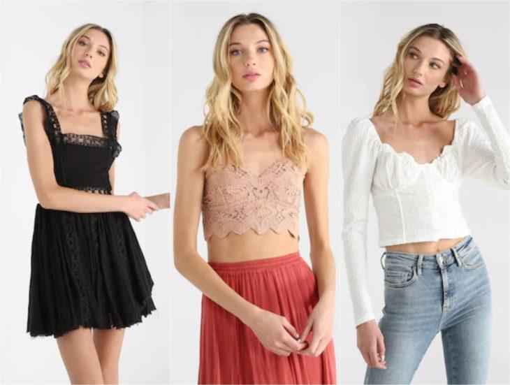Chicas con ropa moderna