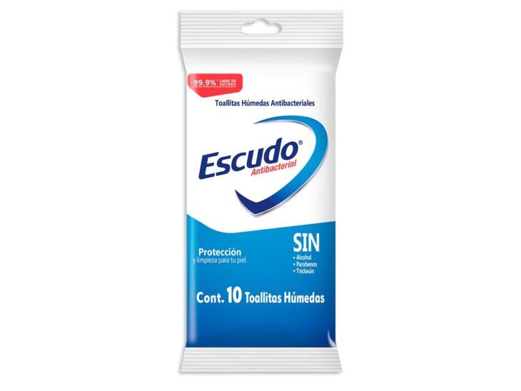 Pauqte de toallitas húmedas de Escudo