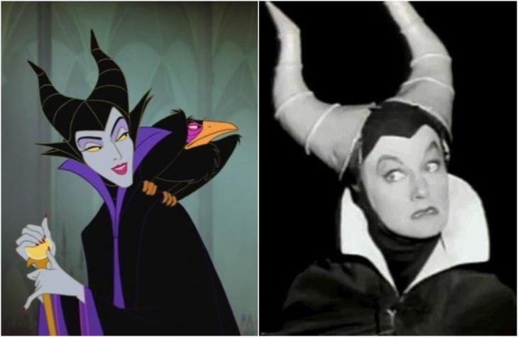 Maléfica, villana Disney de la película La bella durmiente, Inspirada en la actrizEleanor Audley
