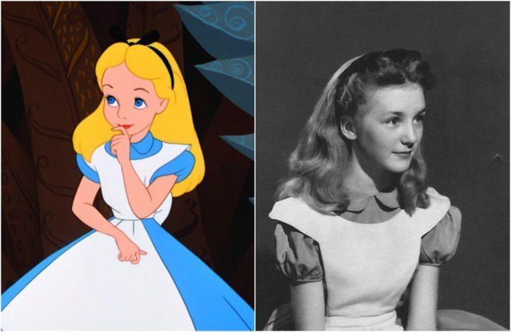 Aliciade la película de Disney Alicia en el país de las maravillas Inspirada en la actriz Kathryn Beaumont