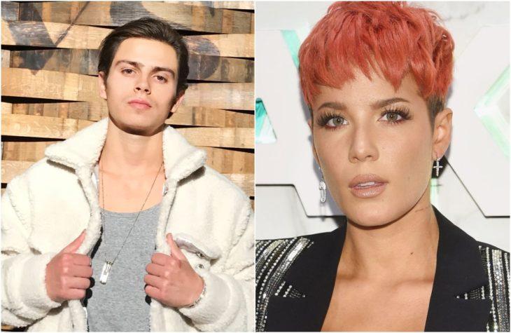 Duplas de celebridades que tienen la misma en comparación con Jake T. Austin y Halsey