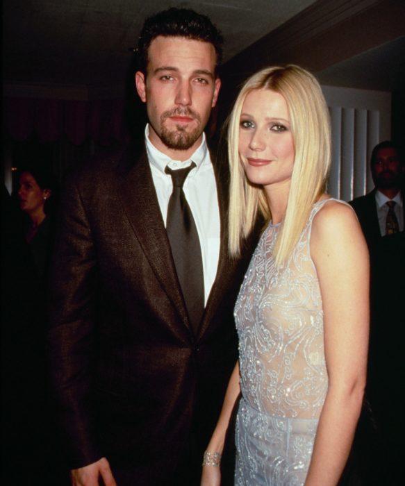 Ben Affleck y Gwyneth Paltrow tomados de la mano