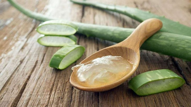 Ingredientes de mascarilla de aloe vera