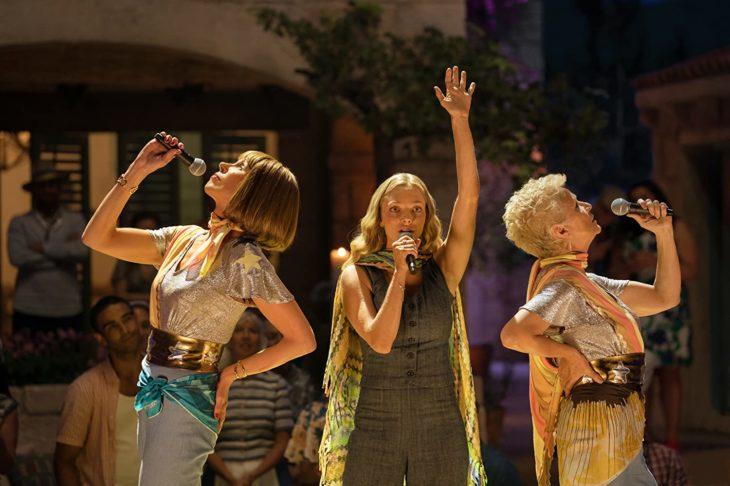 Escena de la película Mamma Mia! here we go again