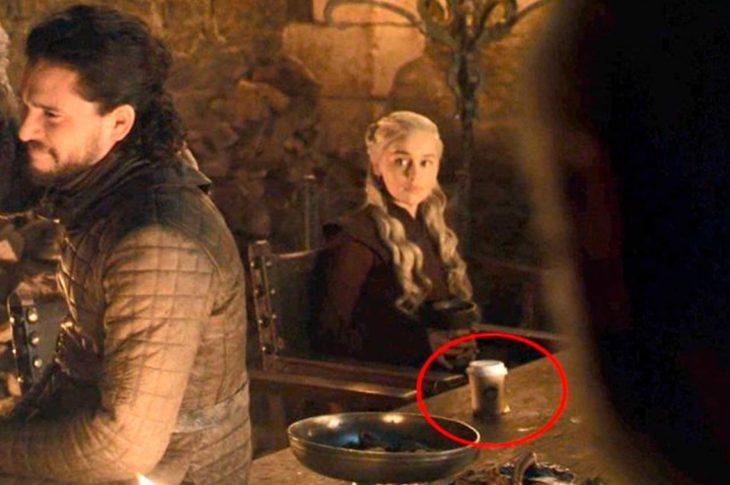 Error de filmación en la serie de Juego de tronos