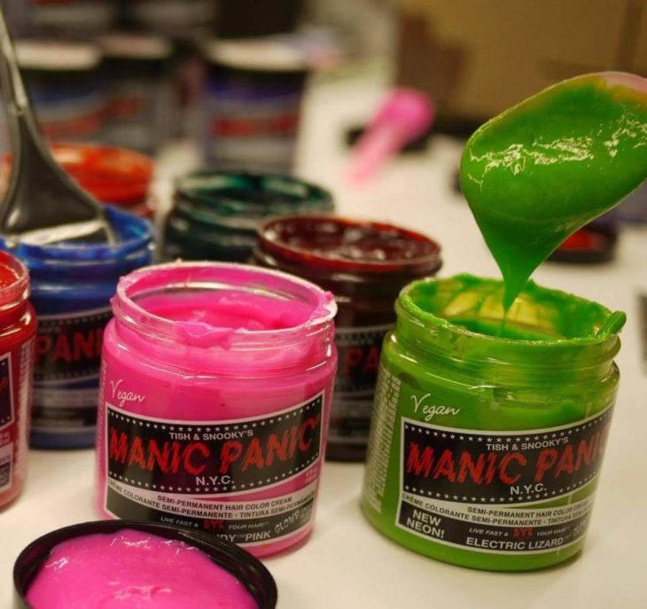 Tinte de color fantasía para cabello
