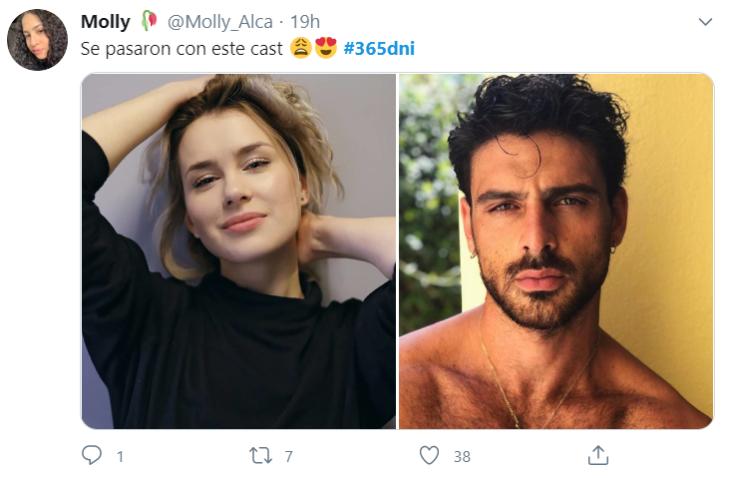 Michele Morrone y Anna Maria Sieklucka 365 dni