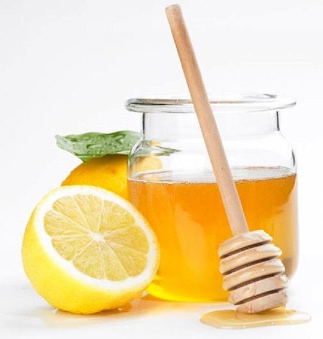 Ingredientes de mascarilla de miel y limón