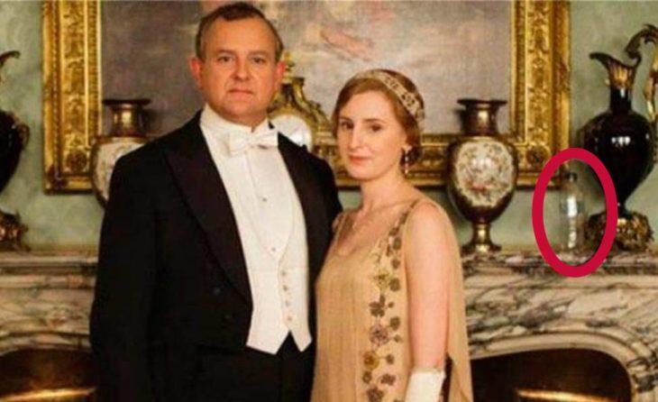 Error de filmación en la serie de Downton Abbey