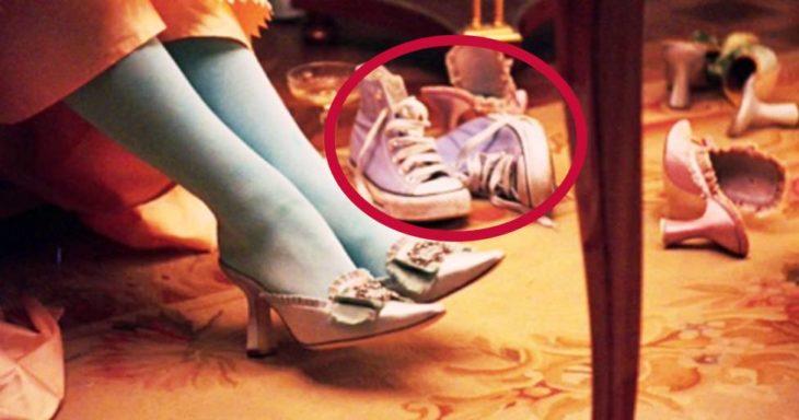 Error de filmación en la película de Marie Antoinette