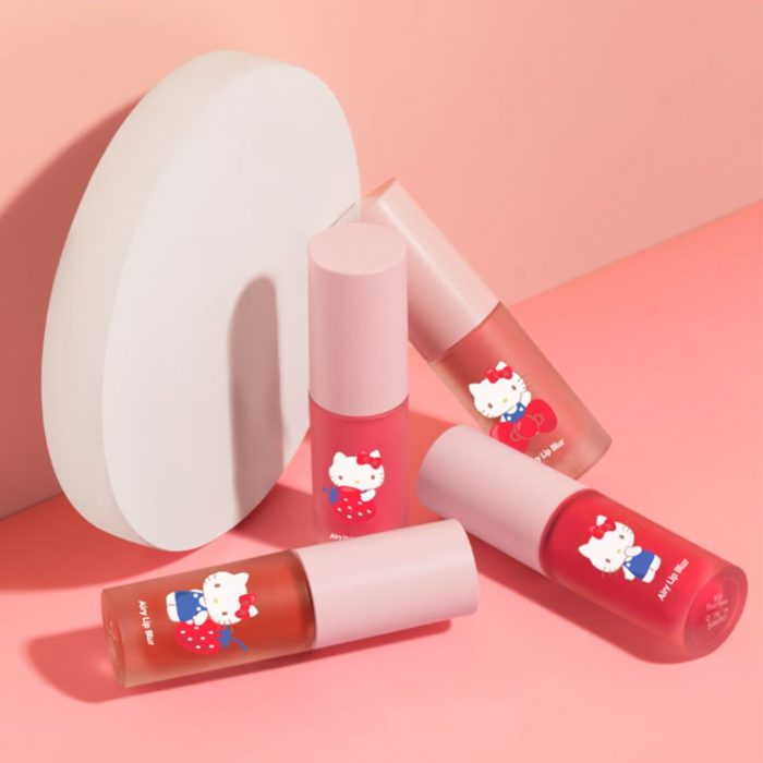 Airy Lip Blur de la colección de Cathy Doll x Hello Kitty