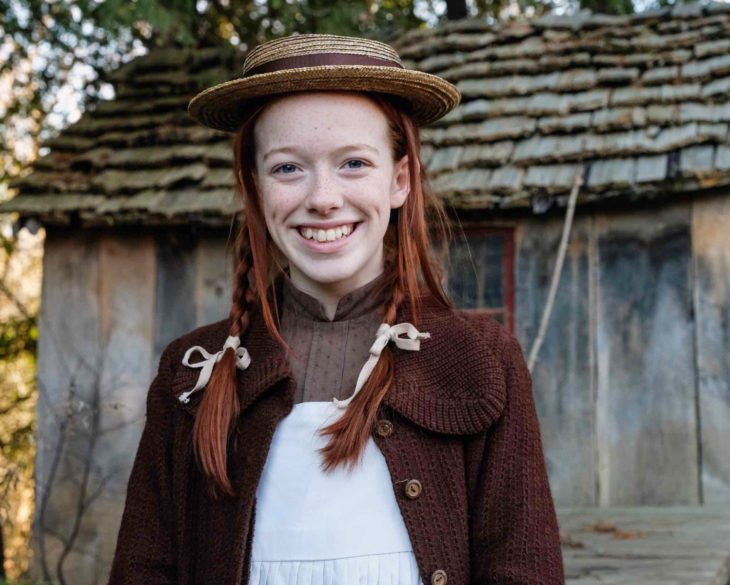 Anne With an E; Anne Shirley Cuthbert, Amybeth McNulty, niña pelirroja